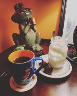 Dessert and Earl Grey